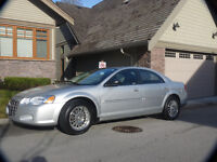 2004 Chrysler Sebring Limited Sedan