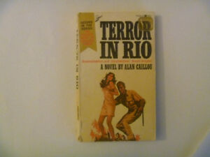 TERROR IN RIO by Alan Caillou (1973 Paperback)