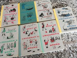 Rare 1957 Set Children's Books