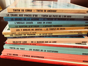 Collection livres tintin