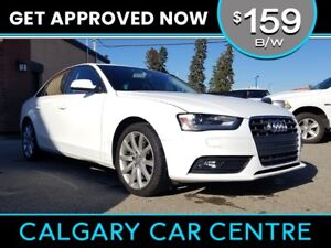 2014 Audi A4 $159B/W TEXT US FOR EASY FINANCING! 587-582-2859