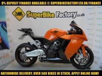 2011 11 KTM RC8 1190CC 0% DEPOSIT FINANCE AVAILABLE