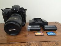 Pro Nikon D2X complete kit for Sale.