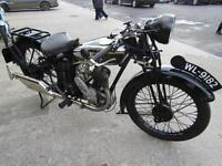 RARE ROYAL ENFIELD FL30 346cc REGISTERED 1930
