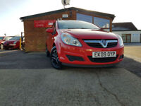 2009 Vauxhall/Opel Corsa 1.0i 12v ( a/c ) 2009MY Life NEW SERVICE