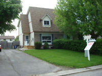 Semi-detached for rent Available August 1st.