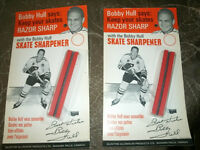 Hockey - Bobby Hull - Vintage 1960's - Skate Sharpener