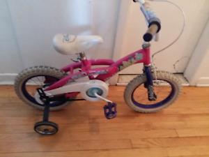 Vélo princesses 14 pouces en bon etat