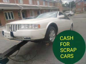 CASH FOR SCRAP CARS 400$ UP TO 1400$ # 647-6941488