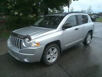 jeep compass 2007 automatique (105 000km)