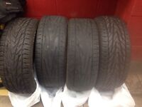 2X General Tire Exclaim UHP P225/50 ZR17