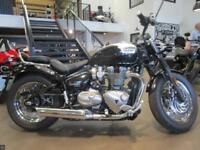 TRIUMPH SPEEDMASTER 1200 IN BLACK/WHITE 1662 miles