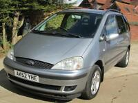 Ford Galaxy 2.3 auto 2002 Ghia 7 Seats MOT Until September Drives Great !!