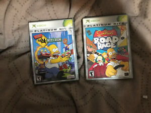 Simpsons Games for Xbox