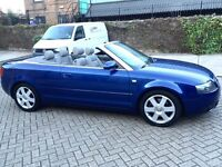 Audi A4,Convertable,110000 miles with full history,Hpi clear
