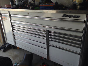 Huge snap on tool box with tools