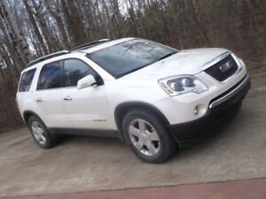 2008 GMC ACADIA SLT 7 PASSENGER  Cash/trade/lease to own terms.