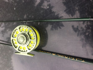 Two fly rods