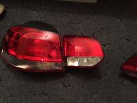 VW golf mark 6 golf rear light left hand side