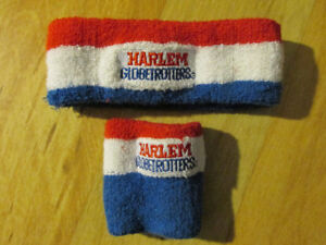 NBA Basketball HARLEM GLOBETROTTERS Vintage Head Band Wrist