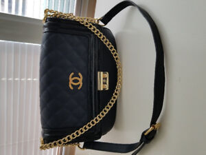 Channel Inspired Purse