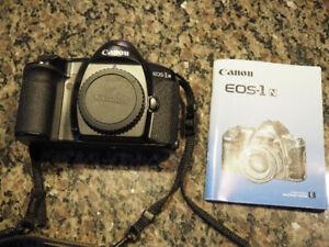 Canon EOS-1 N SLR 35mm camera body.