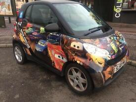 Smart fortwo 1.0 ( 61bhp ) Pure DISNEY CARS WRAP-FINANCE AVAILABLE