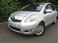 2009 Toyota Yaris 1.33 VVT-i MMT T Spirit FACE LIFT, £30 ROAD TAX, 47K MILES