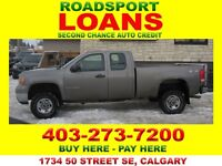 2009 GMC 2500 4X4 EXT CAB BAD CREDIT OK $29 TO QUALIFY APPLY NOW