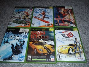 60 orginal xbox games ---------ALL IN CASES !!!