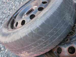 2 185-65-14 m and s tires
