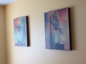 TWO BEAUTIFUL ART WALL -PICTURES