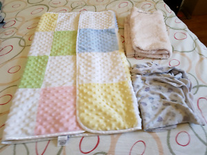 Blankets baby to toddler size