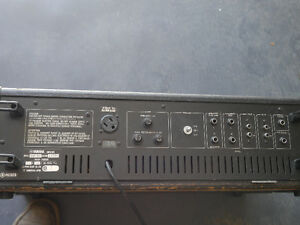 Yamaha EM 150 sound board, 2 speakers, monitor, 2 mics and stnd Kingston Kingston Area image 2