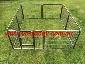 61cmH heavy duty Pet Dog steel Playpen Cage fence Enclosure 18kg Oakleigh Monash Area Preview
