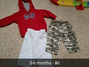 Boys 3 to 6 Months Clothing