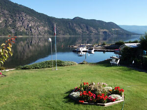 Fabulous Waterfront Home in Chase, BC