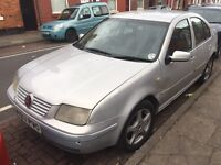 VOLKSWAGEN BORA 1.6 SR starts and drives spares or repairs