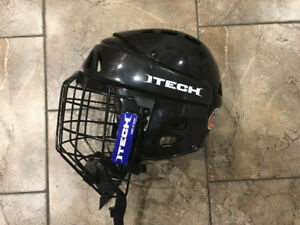 Brand New Itech Helmet with Cage