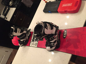 Used Snowboard with Boots/Bindings.