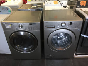 LG Washer (WM2240CS) & Dryer(DLE6977S) Combo