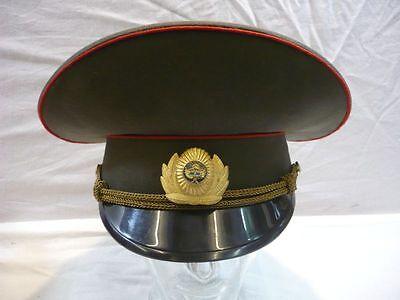 Schirmmütze für Offiziere des usbekischen Armee, Felddienst Grösse 54