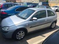 2004 Vauxhall/Opel Corsa 1.2i 16v SXi PERFECT DRIVE FULL YEAR MOT FREE INSURANCE