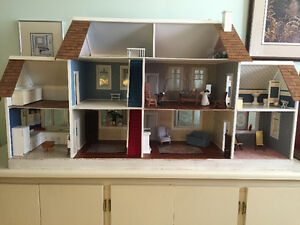 Gorgeous upgraded doll house