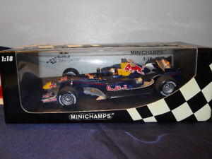 1/18 Diecast Minichamps Red Bull Racing RB2 C.KLIEN 2006