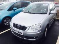 Volkswagen Polo 1.4TDI ( 70P ) 2008MY S 1 OWNER FSH ONLY DONE 50K DIESEL 5 DOOR