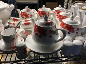 TEA CUPS AND TEA POTS FOR SALE