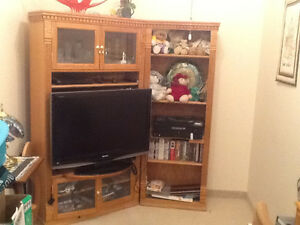 Corner TV Entertainment Unit