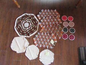 VINTAGE CROCHET ITEMS - FREE!!!!!