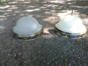 SET OF 2 NEW WALL SCONCES